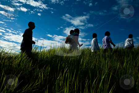 Way up to the hill stock photo, A healthy lifestyle by Mohamad Shahrol Azmi Bin Osman