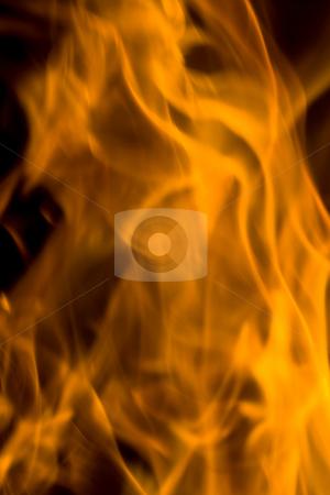 Flame stock photo, Burning flames by Luca Bertolli