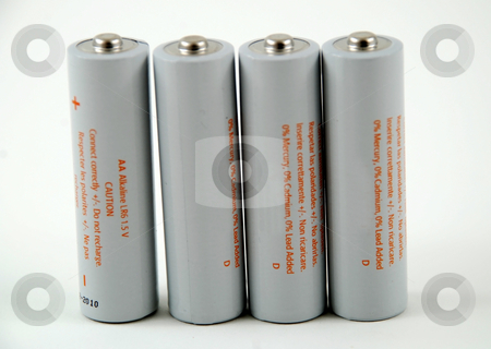 Batteries stock photo, Stock pictures of generic batteries to power electronic products by Albert Lozano