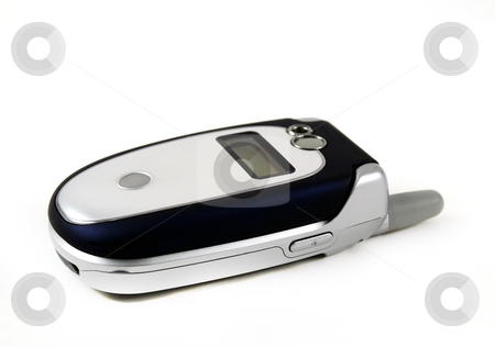Cell phone stock photo, Stock pictures of a regular cell phone by Albert Lozano