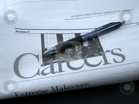 Jobs and careers stock photo, Career opportunities by Albert Lozano