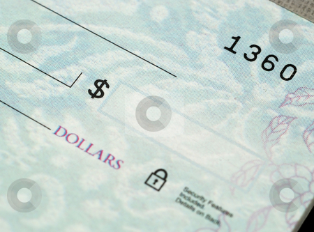 Checks stock photo, Stock pictures of checks used as a form of payment by Albert Lozano