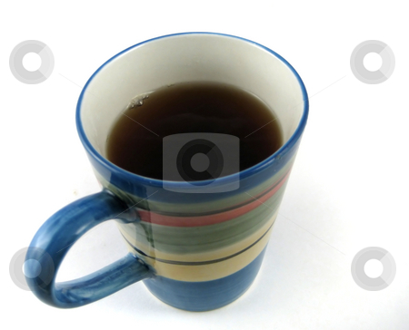 Cup of coffee stock photo, Pictures of a cup of coffee ready to be served in the morning by Albert Lozano