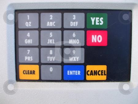 ATM Keypad stock photo,  by Michael Felix