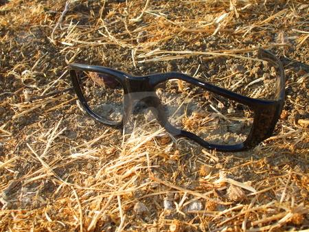 Broken Glasses stock photo,  by Michael Felix