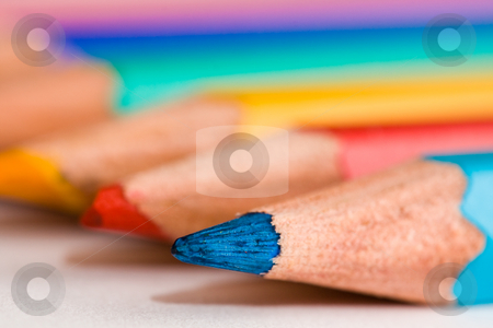 Colored pencils stock photo, Colored pencils by Luca Bertolli