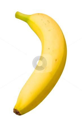 Banana stock photo, Banana isolated on a white background by Danny Smythe