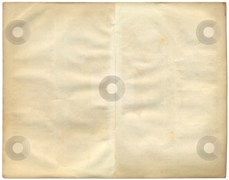Two vintage pages from an old book. stock photo, Two vintage pages from an old book. by Stephen Rees