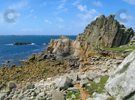 St. Agnes and Western Rocks, Isles of Scilly. stock photo, St. Agnes and Western Rocks, Isles of Scilly. by Stephen Rees