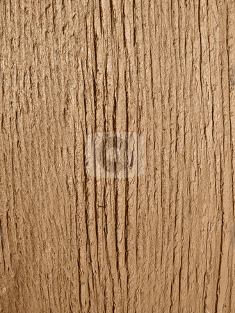 Brown painted wood texture close up background. stock photo, Brown painted wood texture close up background. by Stephen Rees