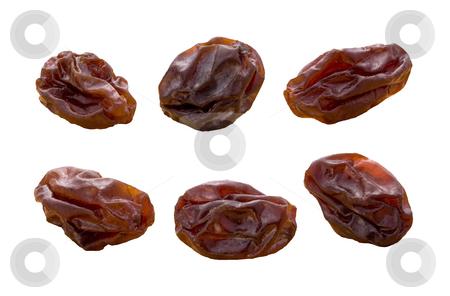 Raisins stock photo, Raisins isolated on a white background by Danny Smythe