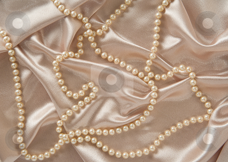 Silk and  Pearls stock photo, Silk and  Pearls can be used as a backdrop by Danny Smythe