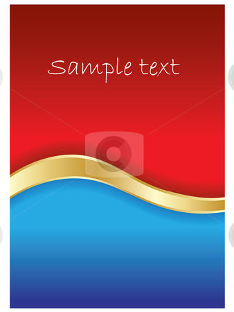 Red  stock vector clipart,  by Mihaly Pal Fazakas