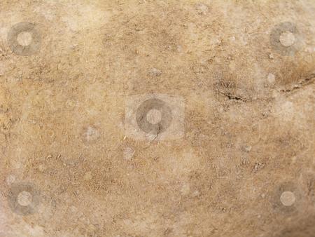 Potato skin background stock photo, Potato skin background by John Teeter