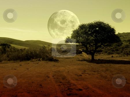 Fantasy landscape stock photo, Fantasy landscape by Julia Shentseva