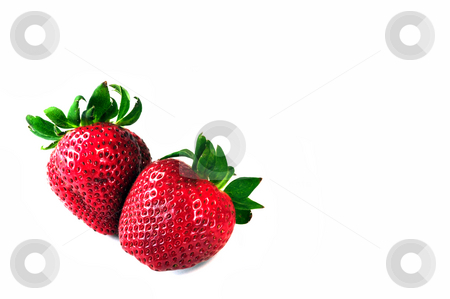 Fresh strawberries stock photo, Close up of fresh, colorful, tasty, strawberries by Fernando Barozza
