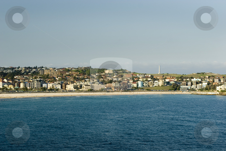 Bondi Beach stock photo, Sydney's famous Bondi beach by Stephen Gibson