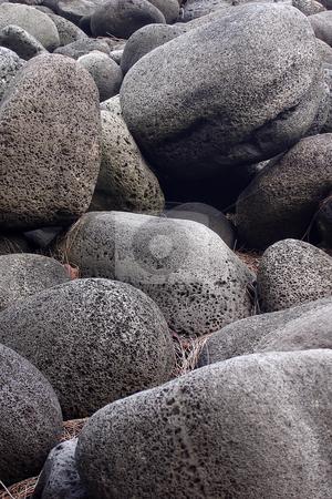 Rocks stock photo, Rocks at Waipi?? by Peter Van veldhoven