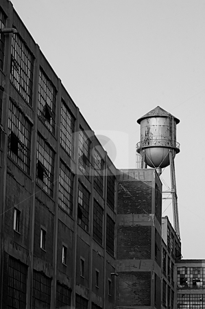 Russell Industrial Center  stock photo, This is an old Factory in Detroit. by Joe Shortridge