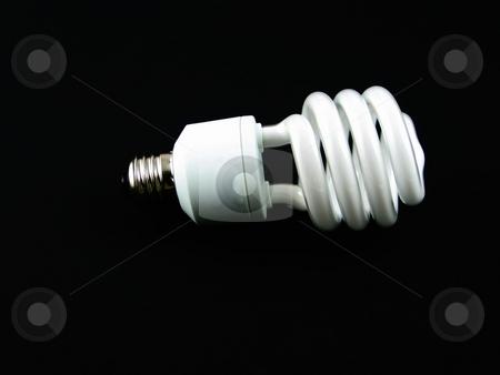 Modern lightbulb stock photo, Modern lighbulb for energy savings and conservation by Albert Lozano