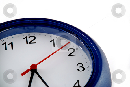 Time and clock stock photo, Pictures of a clock showing the passing to time by Albert Lozano