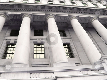 Old bank building   stock photo, An old historic bank building in excelled conditions . by Horst Petzold