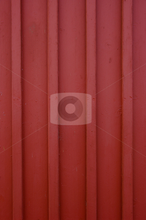 Red Wall stock photo, A classic red wooden wall. by Peter Soderstrom