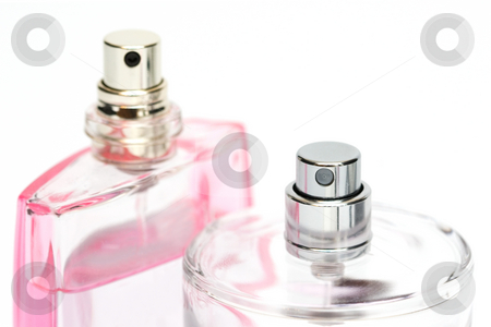 Perfume bottles stock photo, Perfume bottles by Andrey Butenko