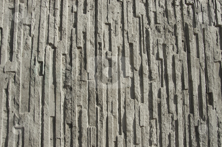 Cement Textured Wall stock photo, A cement wall, grey and real solid. by Peter Soderstrom