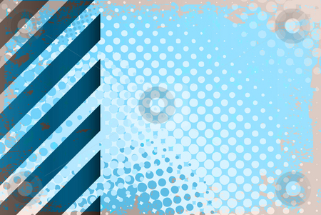 High Tech Hazard Stripes stock photo, Hazard stripes layout that works great for any technology theme. by Todd Arena