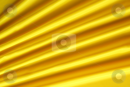Yellow background stock photo, Arranged yellow and silky cloth as background by Jolanta Dabrowska