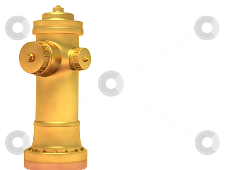Yellow fire Hydrant stock photo,  by Rodolfo Clix
