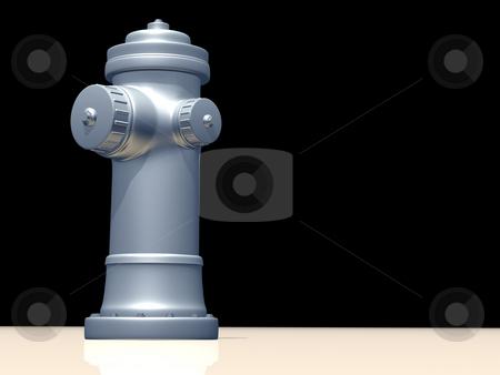 Silver Hydrant stock photo,  by Rodolfo Clix