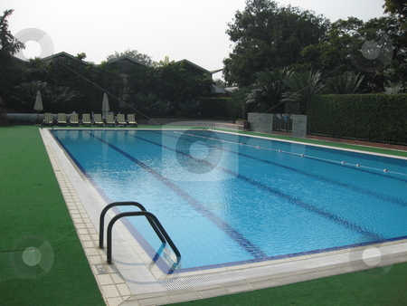 Empty Swimming Pool stock photo, An empty Swimming Pool. by Colin Elves