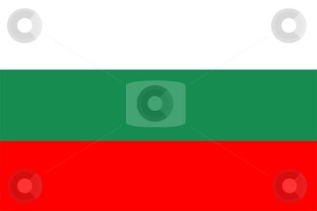 Flag Of bulgaria stock photo, 2D illustration of the flag of bulgaria by Tudor Antonel adrian