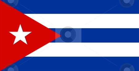 Flag Of Cuba stock photo, 2D illustration of the flag of Cuba by Tudor Antonel adrian