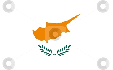 Flag Of Cyprus stock photo, 2D illustration of the flag of Cyprus by Tudor Antonel adrian