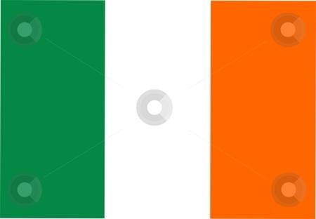 Flag Of ireland stock photo, 2D illustration of the flag of ireland by Tudor Antonel adrian