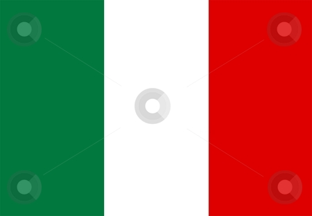 Flag Of italy stock photo, 2D illustration of the flag of italy by Tudor Antonel adrian