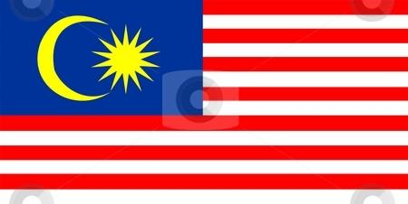Flag Of Malaysia stock photo, 2D illustration of the flag of Malaysia by Tudor Antonel adrian