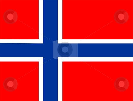 Flag Of Norway stock photo, 2D illustration of the flag of Norway by Tudor Antonel adrian