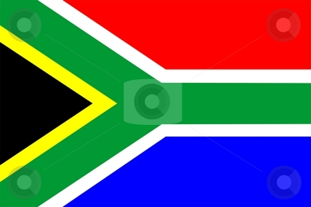 Flag Of South Africa  stock photo, 2D illustration of the flag of South Africa by Tudor Antonel adrian