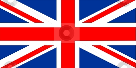 Flag Of United Kingdom stock photo, 2D illustration of the flag of United Kingdom by Tudor Antonel adrian