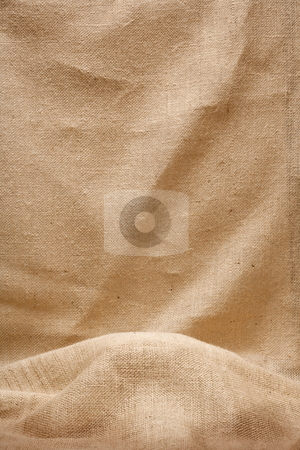 Burlap Display (Backdrop) stock photo, Burlap Display can be used as a textured backdrop background by Danny Smythe
