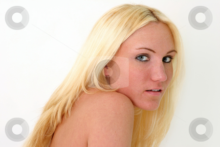 Lean to mr stock photo, Naked Blond Leaning by Gregg Cerenzio
