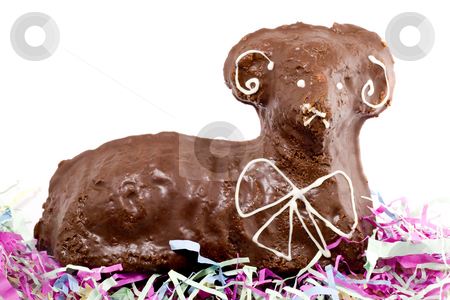 Easter Lamb stock photo, Easter pastry lamb - special kind of easter decoration by Petr Koudelka