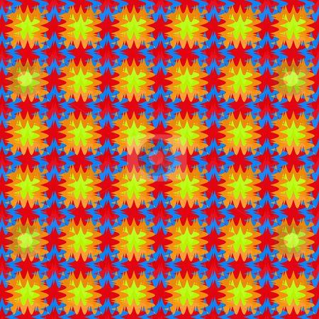 Abstract festive pattern stock photo, Colorful seamless texture of regular repeating spots by Wino Evertz