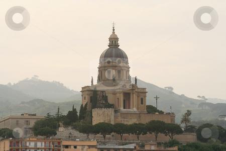 Messina stock photo, Imposing building near Messina harbour by Helen Shorey