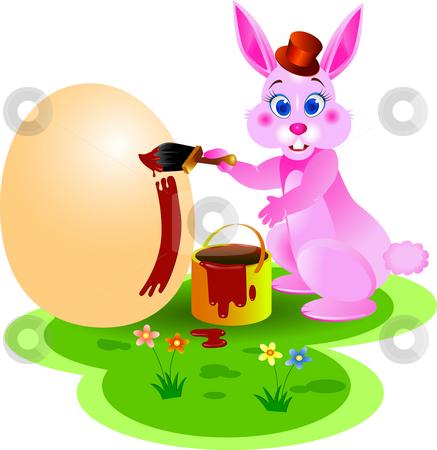 Easter bunny stock photo, Easter bunny illustration by Surya Zaidan