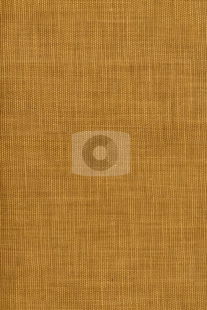 Brown coarse textile background stock photo, Brown coarse textile background from old book cover by Marek Uliasz